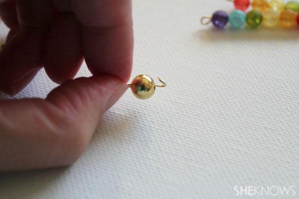open loop on side of bead