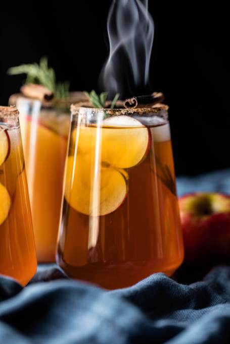 Spiked Apple Cider Recipes for All Your Fall Parties: apple cider margaritas