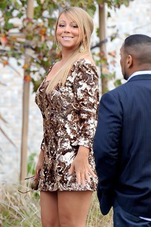 Mariah Carey snubs Jennifer Lopez at