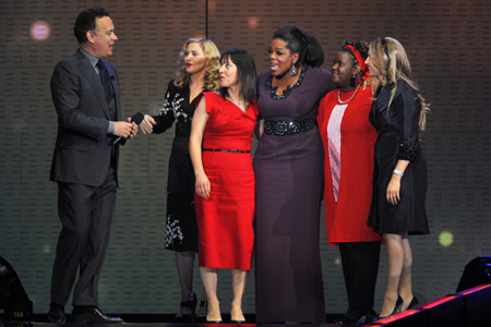 Oprah farewell spectatular