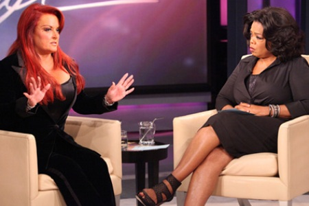 Wyonna Judd visits Oprah