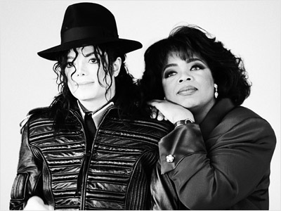 Oprah and Michael Jackson