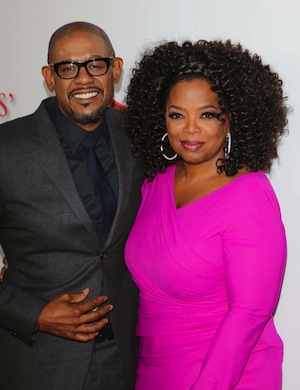 Oprah and Forest Whitaker