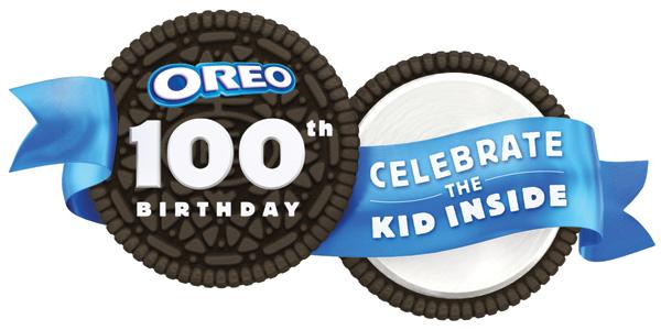 Oreo 100th Birthday logo