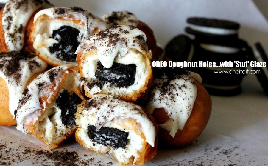 oreo doughnut holes