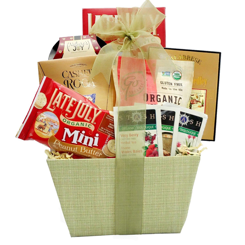 Organic food basket
