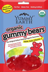 Yummy Earth Organic Gummy Bears