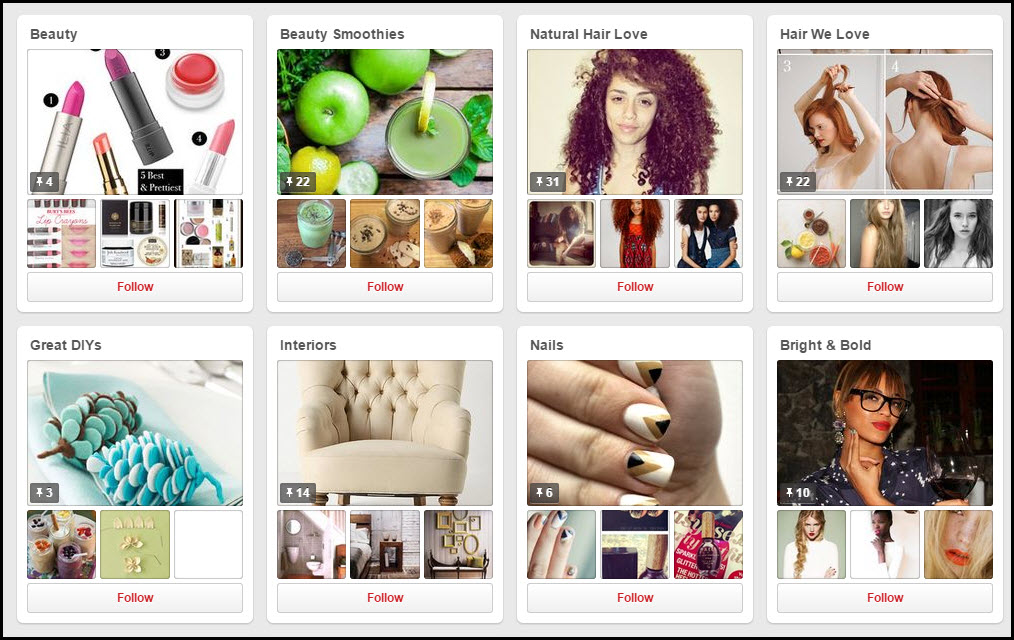 Organic Beauty Talk Pinterest