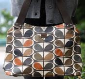 Orla Kiely Oval Stem Print Classic Shoulder Bag