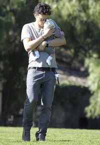Orlando Bloom and baby