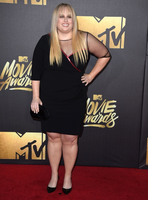 Rebel Wilson MTV movie awards fashion