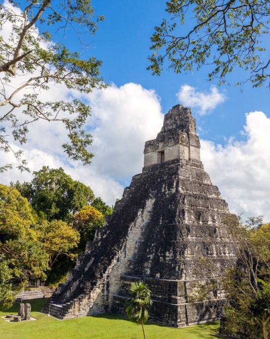 Mayan ruins of Tikal Temple I Guatemala