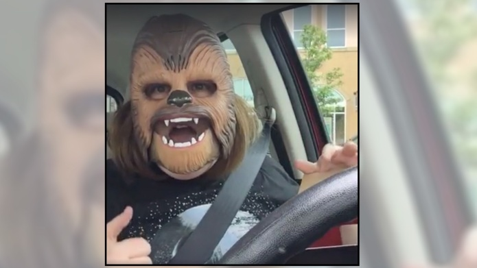 Chewbacca Mom is raking in the