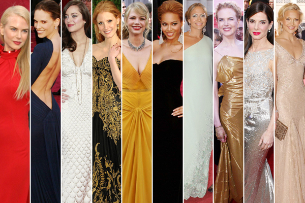 Oscar Best Dressed