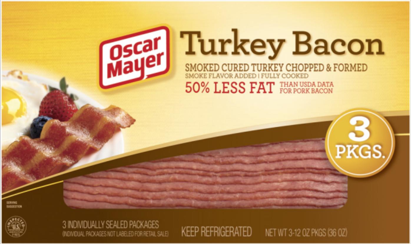 oscar mayer turkey bacon
