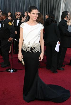 Sandra Bullock at the 2012 Oscars