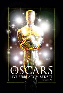 Oscars poster - 2008