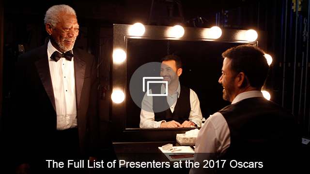 Oscars 2017 presenters slideshow