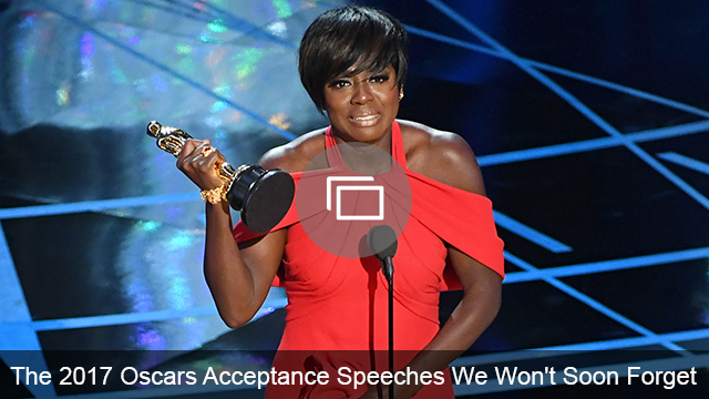 Oscars 2017 speeches slideshow