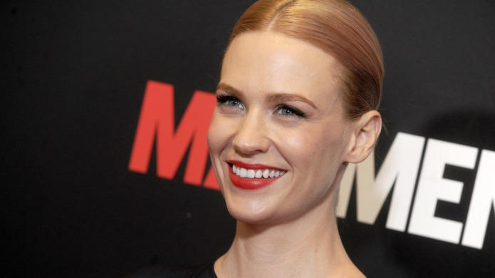 January Jones is the hottest naked