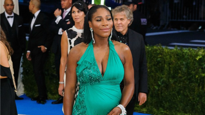 Serena Williams Is Already Flaunting Her