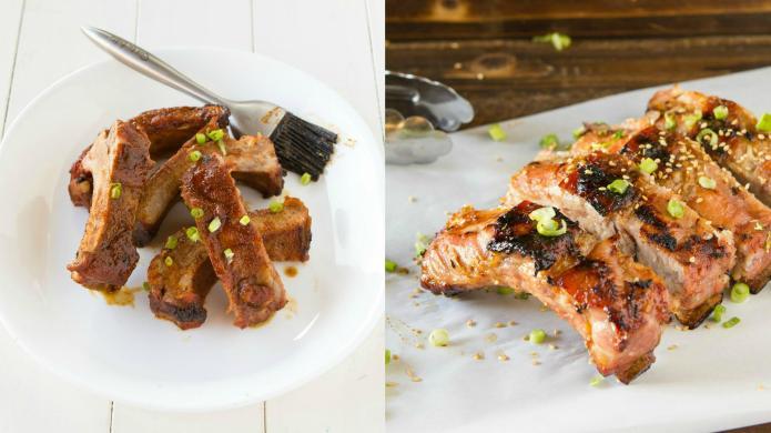 2 Finger-lickin' barbecue rib recipes