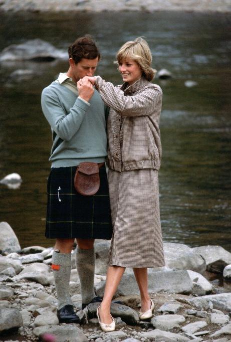 Iconic photos of Princess Diana: Diana and Charles' honeymoon