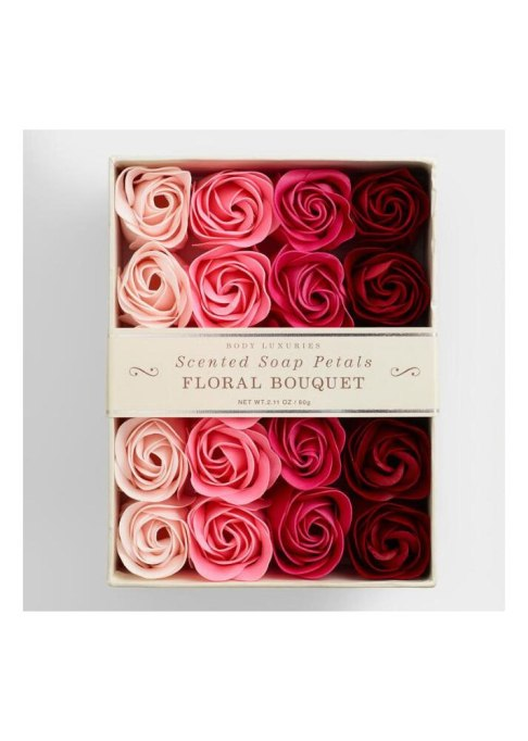 Decadent Bath Products To Try | Body Luxuries Floral Bouquet Soap Petals