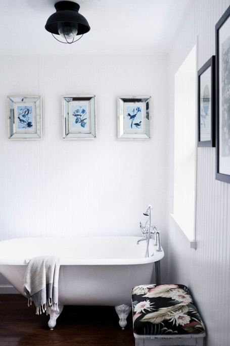 How to Upgrade Your Bathroom on a Budget | Deck the Walls