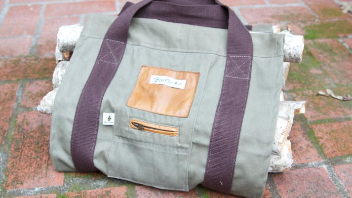 How To Make Your Own Upcycled Firewood Carrier Sheknows