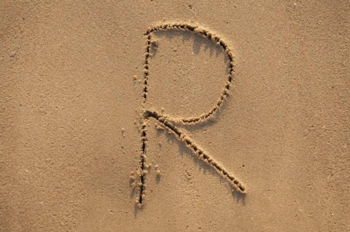 written in the sandy