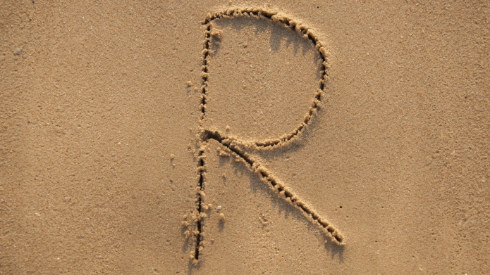 written in the sandy