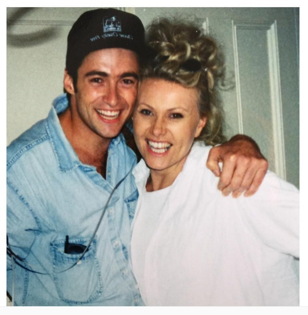 Deborra-lee Furness & Hugh Jackman throwback photo