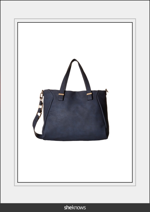 Navy blue purse