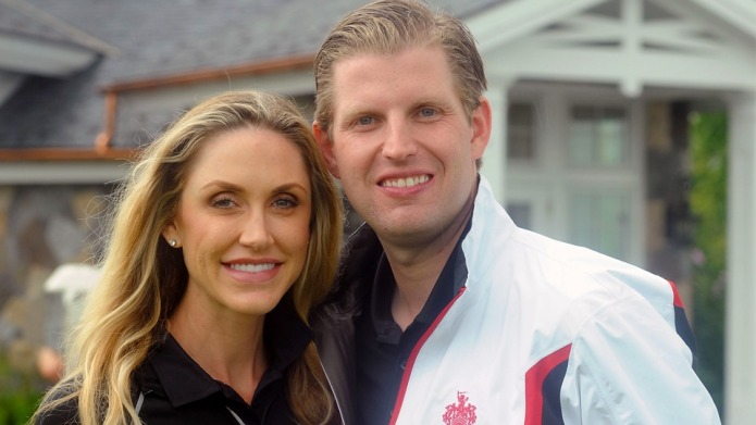 Eric Trump and Wife Lara Are