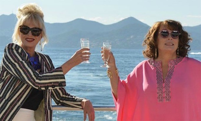 Over the top fun, Absolutely Fabulous is now a movie