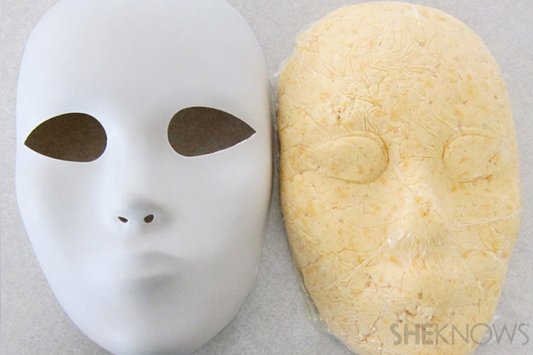 Cheese mix out of mask