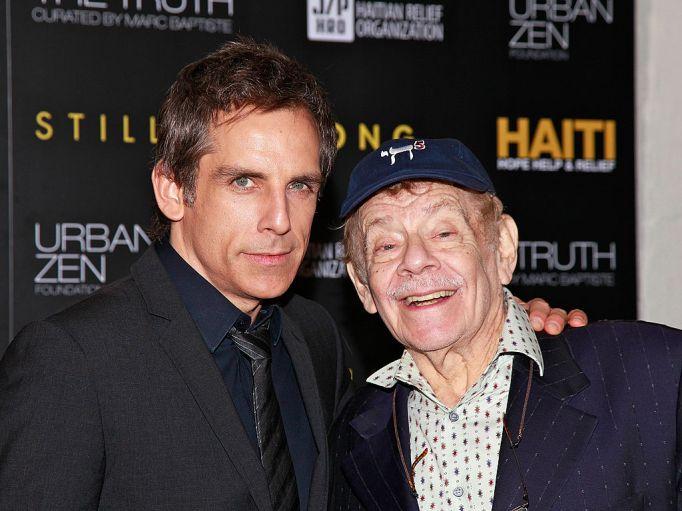 Celebrities with famous fathers: Ben Stiller & Jerry Stiller