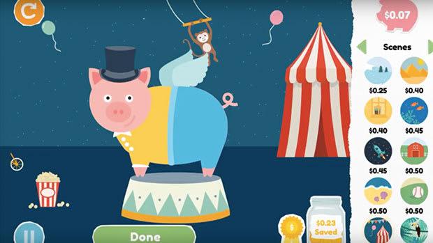 Best Math Apps for Kids - Peter Pig's Money Counter