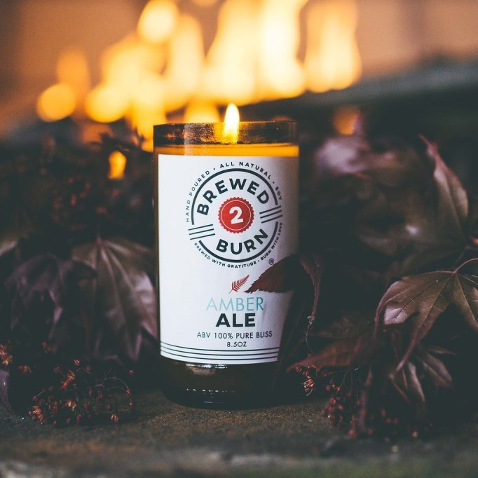 Brewed2burn Craft Beer Scented Candle