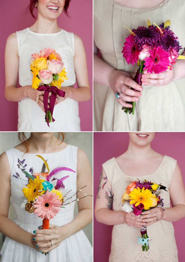 Wedding bouquet DIY