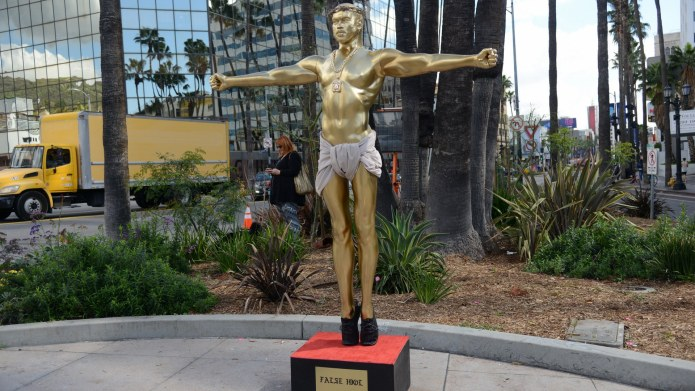 This Statue of Kanye West as
