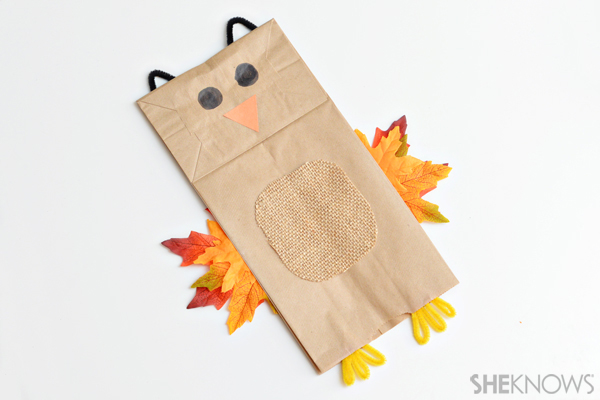4 Autumn Themed Paper Bag Crafts That Will Keep Kids Busy All Fall