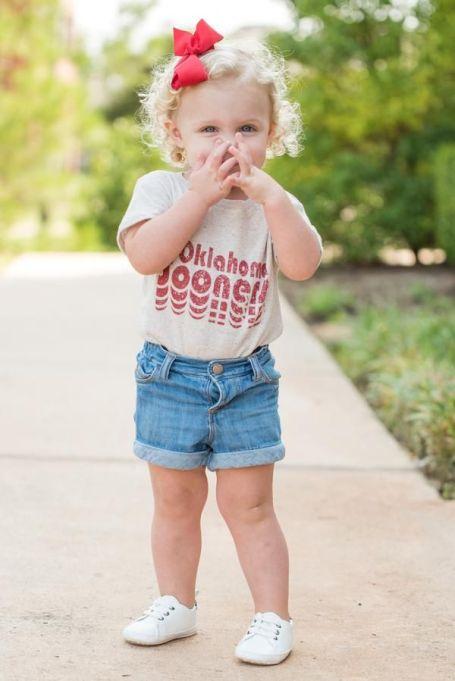 Oklahoma Baby Onesie