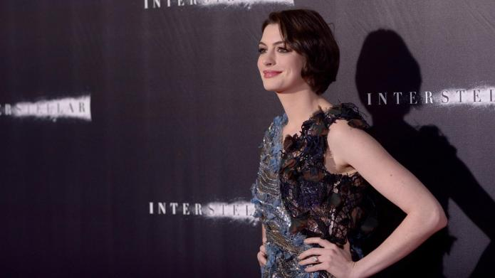 Anne Hathaway puts her Hatha-haters on