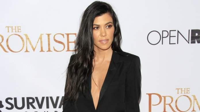 Kourtney Kardashian Gets Cozy With New