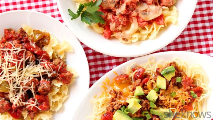 3 Shortcut pasta sauces you can