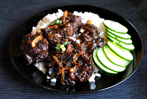 Ox-tails soup: Jamaica