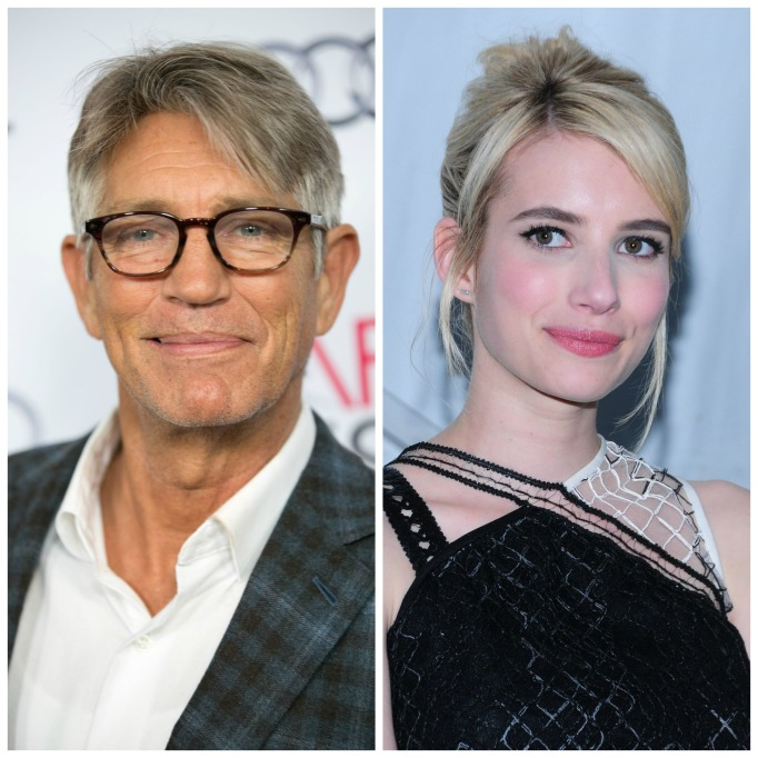 Celebrities with famous fathers: Emma Roberts & Eric Roberts