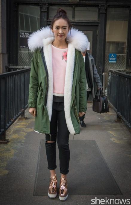 Todashi fashion week model